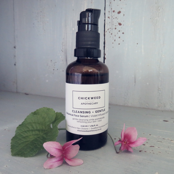 Botanical Face Serum Violet Infused Cleanse